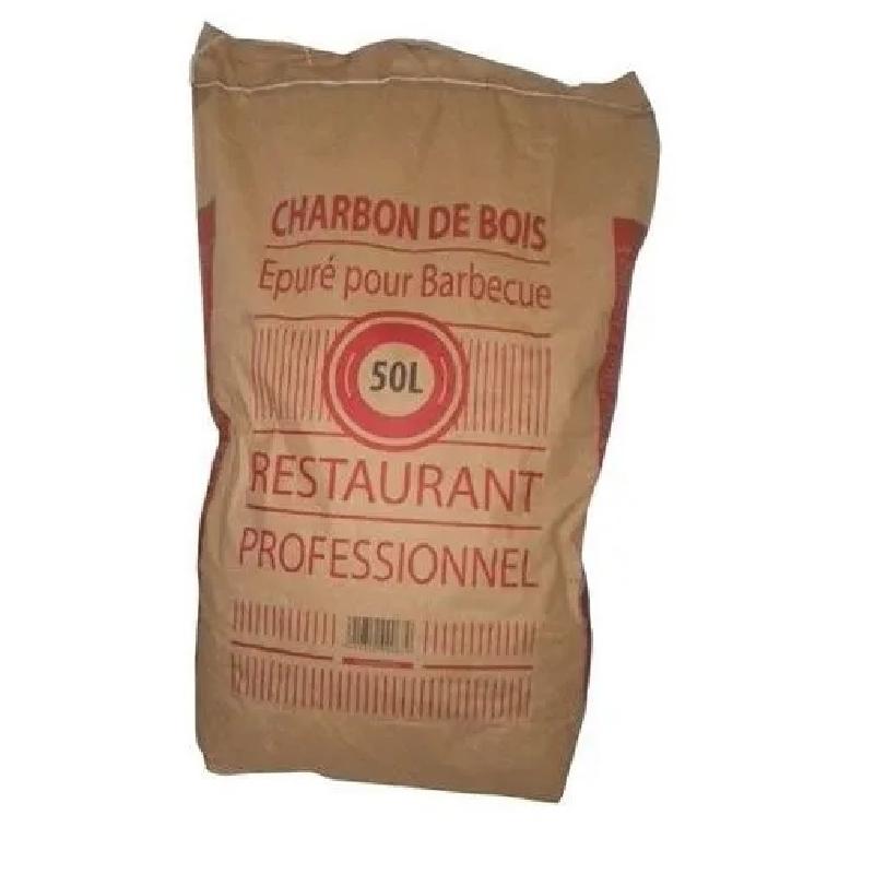 Charbon de bois - Sac 50 litres